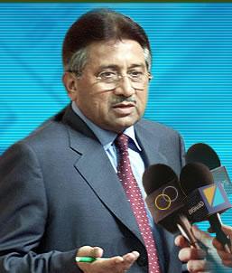 Musharraf har atervant till pakistan